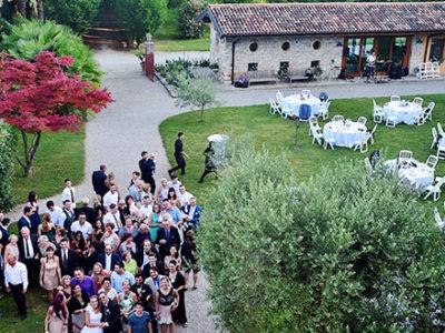 matrimonio all'aperto villa iachia